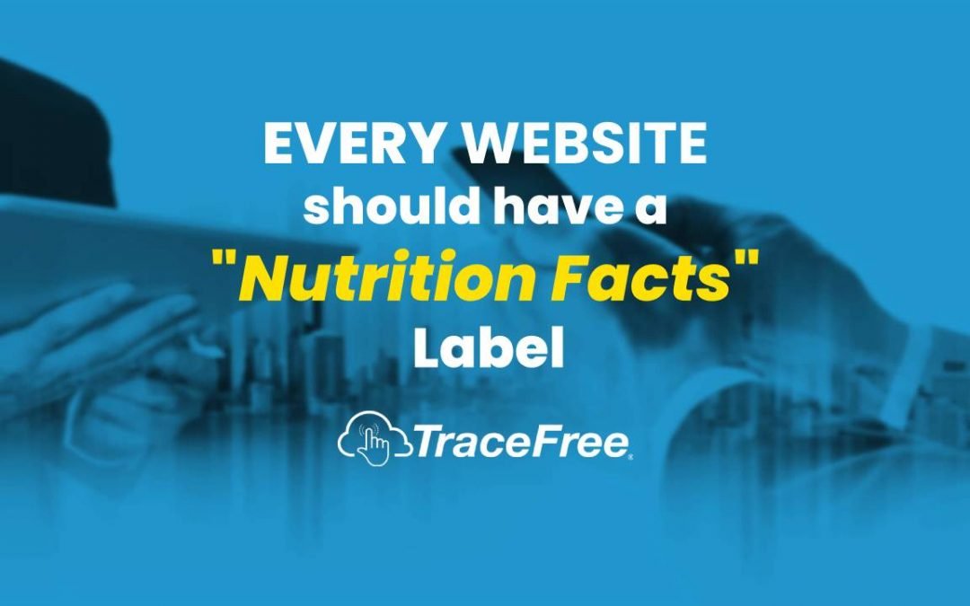 "Every Website Should Have A ""Nutrition Facts"" Label"