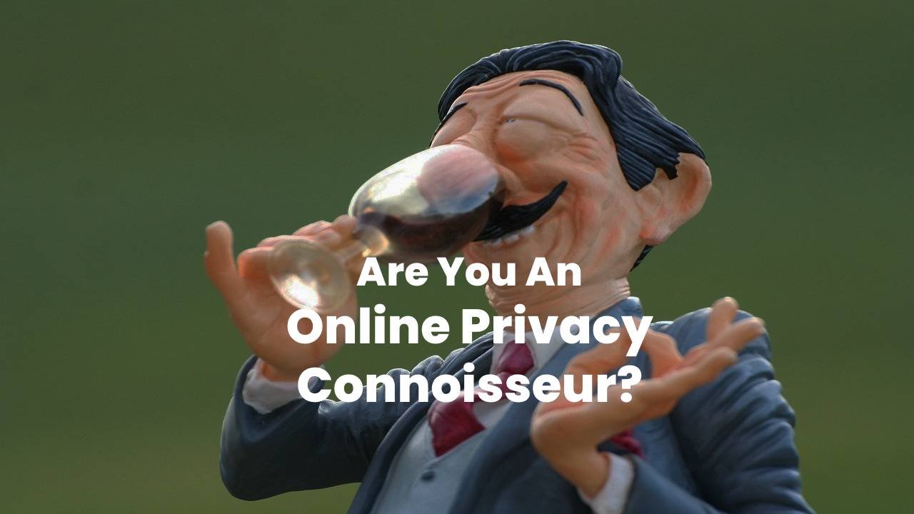 Are You An Online Privacy Connoisseur?