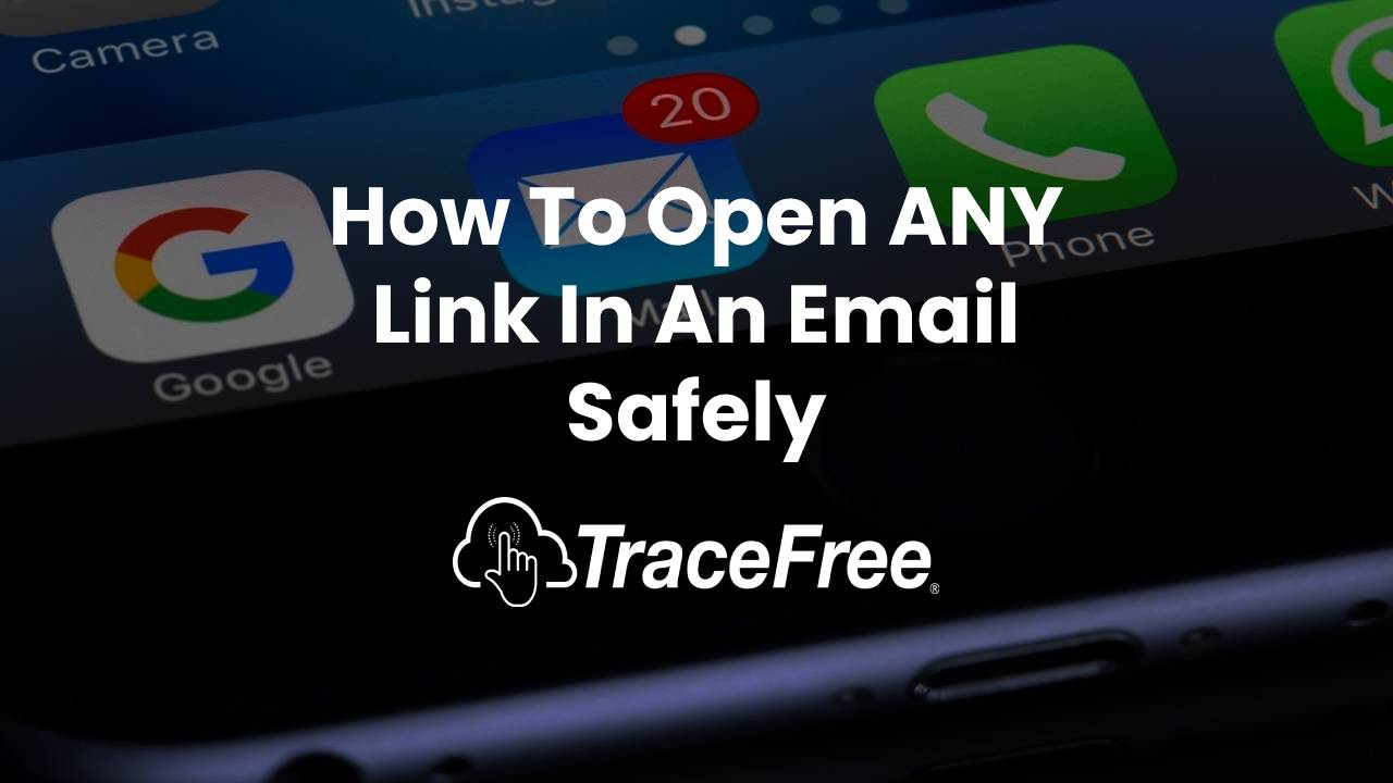 How to open any link in an email safely